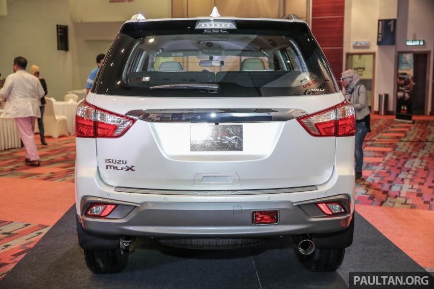 Isuzu MU-X facelift kini dilancarkan di M'sia – bermula RM177k, standard 6-beg udara, ciri lain dipertingkat Image #693586