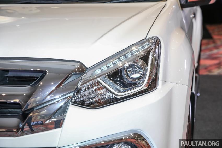 Isuzu MU-X facelift kini dilancarkan di M'sia – bermula RM177k, standard 6-beg udara, ciri lain dipertingkat Image #693589