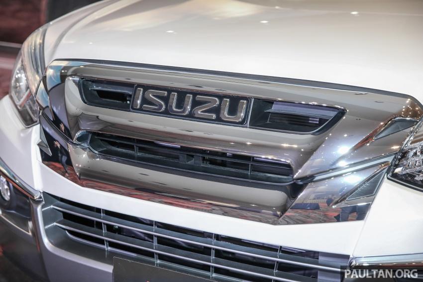 Isuzu MU-X facelift kini dilancarkan di M'sia – bermula RM177k, standard 6-beg udara, ciri lain dipertingkat Image #693590