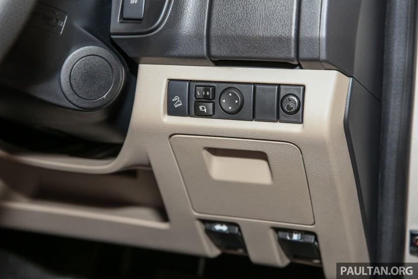 Isuzu MU-X facelift kini dilancarkan di M'sia – bermula RM177k, standard 6-beg udara, ciri lain dipertingkat Image #693630