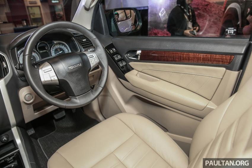 Isuzu MU-X facelift kini dilancarkan di M'sia – bermula RM177k, standard 6-beg udara, ciri lain dipertingkat Image #693633