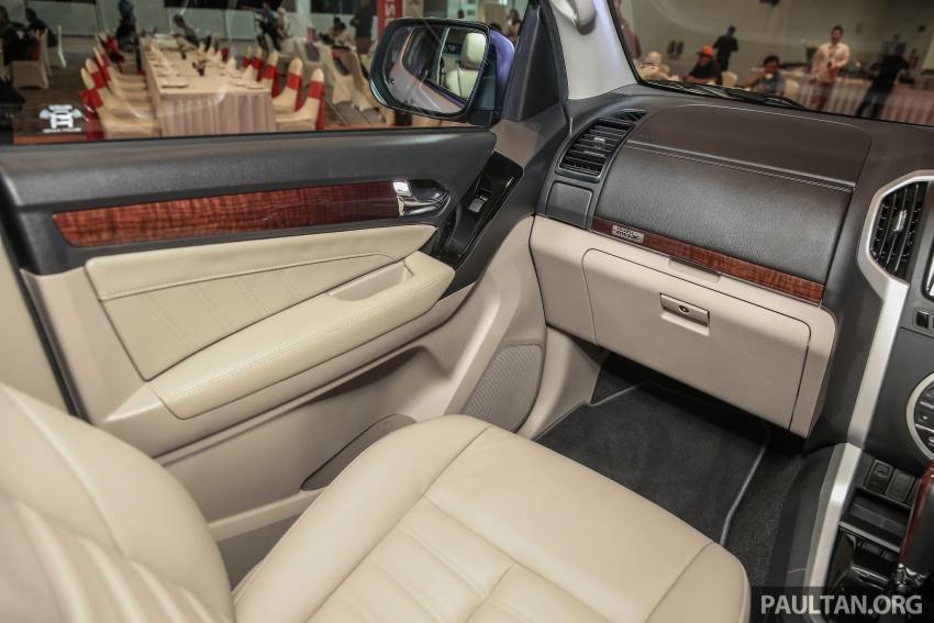 Isuzu MU-X facelift kini dilancarkan di M'sia – bermula RM177k, standard 6-beg udara, ciri lain dipertingkat Image #693634