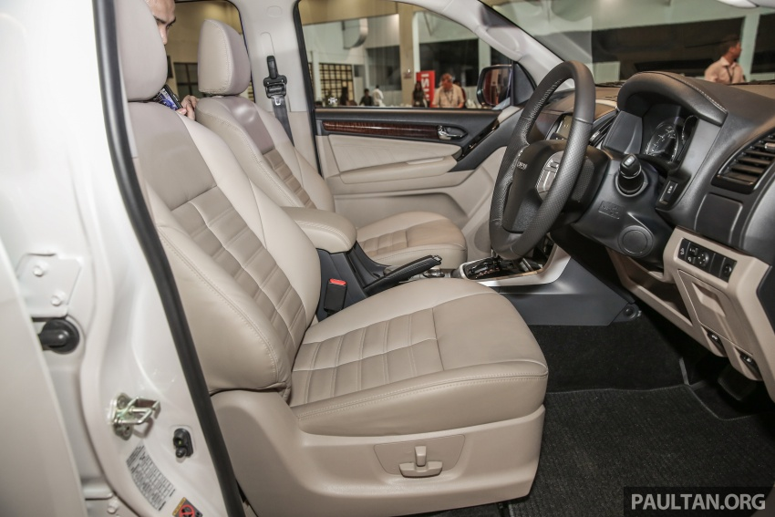Isuzu MU-X facelift kini dilancarkan di M'sia – bermula RM177k, standard 6-beg udara, ciri lain dipertingkat Image #693635