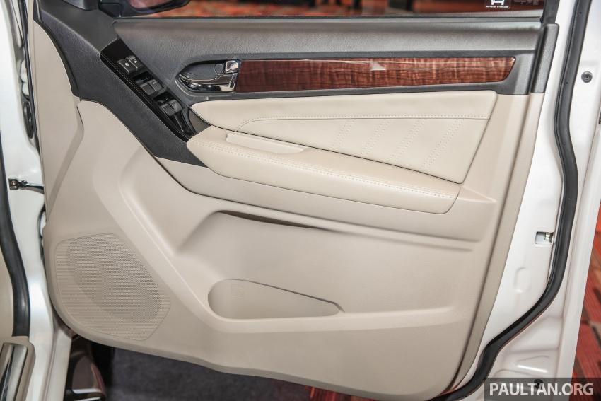 Isuzu MU-X facelift kini dilancarkan di M'sia – bermula RM177k, standard 6-beg udara, ciri lain dipertingkat Image #693637
