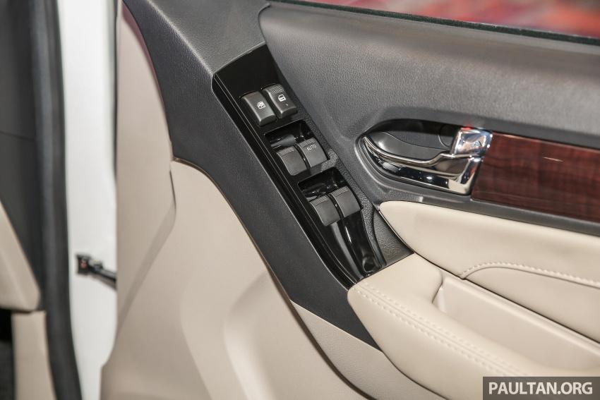 Isuzu MU-X facelift kini dilancarkan di M'sia – bermula RM177k, standard 6-beg udara, ciri lain dipertingkat Image #693638