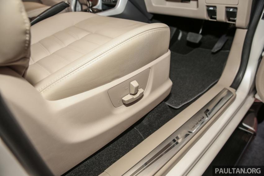 Isuzu MU-X facelift kini dilancarkan di M'sia – bermula RM177k, standard 6-beg udara, ciri lain dipertingkat Image #693639