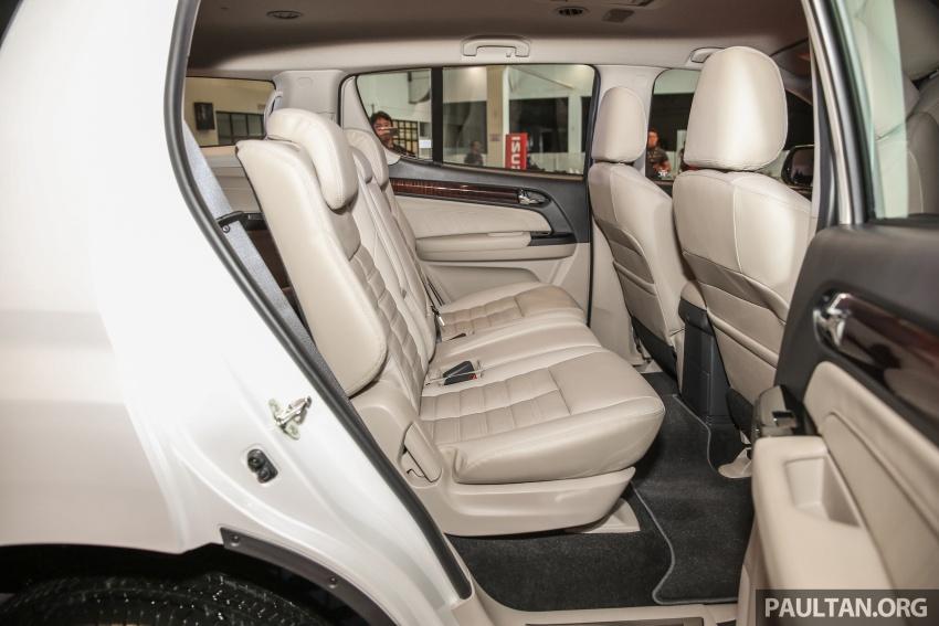 Isuzu MU-X facelift kini dilancarkan di M'sia – bermula RM177k, standard 6-beg udara, ciri lain dipertingkat Image #693640