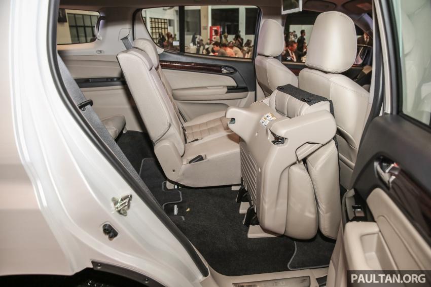 Isuzu MU-X facelift kini dilancarkan di M'sia – bermula RM177k, standard 6-beg udara, ciri lain dipertingkat Image #693643