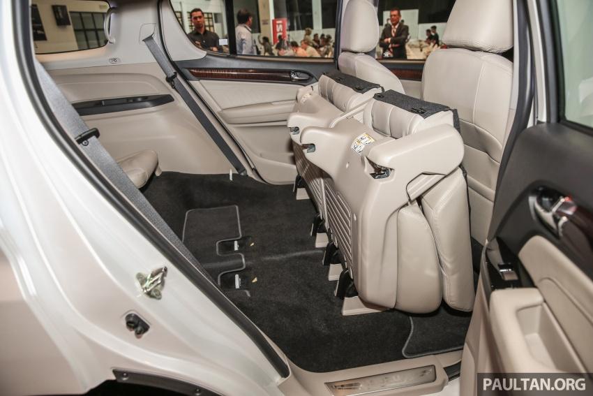 Isuzu MU-X facelift kini dilancarkan di M'sia – bermula RM177k, standard 6-beg udara, ciri lain dipertingkat Image #693644