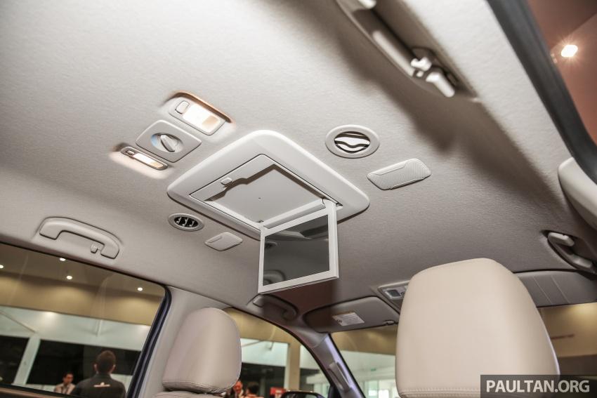 Isuzu MU-X facelift kini dilancarkan di M'sia – bermula RM177k, standard 6-beg udara, ciri lain dipertingkat Image #693645