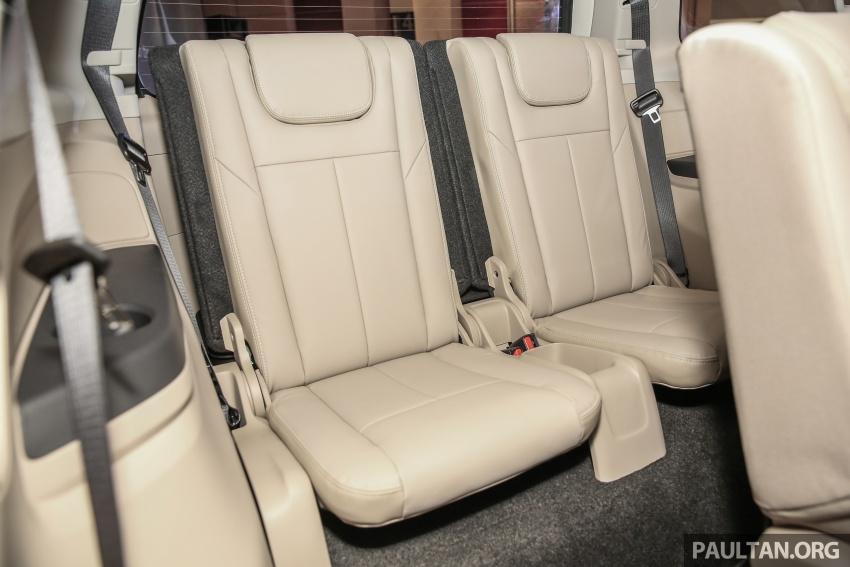 Isuzu MU-X facelift kini dilancarkan di M'sia – bermula RM177k, standard 6-beg udara, ciri lain dipertingkat Image #693646