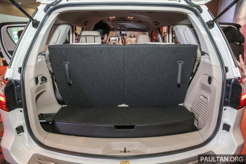 Isuzu MU-X facelift kini dilancarkan di M'sia – bermula RM177k, standard 6-beg udara, ciri lain dipertingkat Image #693648