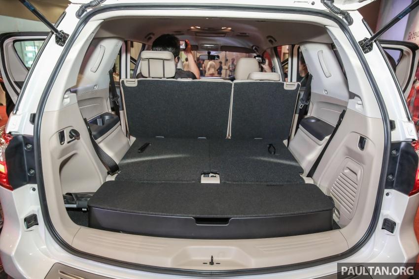 Isuzu MU-X facelift kini dilancarkan di M'sia – bermula RM177k, standard 6-beg udara, ciri lain dipertingkat Image #693649