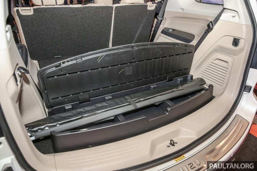 Isuzu MU-X facelift kini dilancarkan di M'sia – bermula RM177k, standard 6-beg udara, ciri lain dipertingkat Image #693651