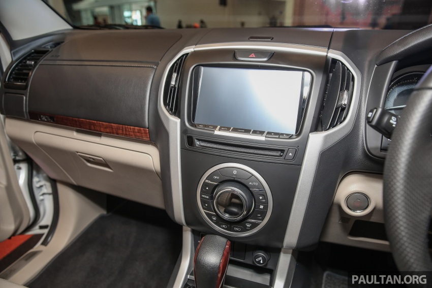 Isuzu MU-X facelift launched in Malaysia, from RM177k Image #693544