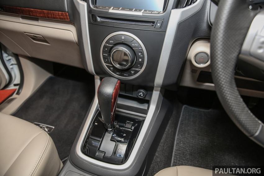 Isuzu MU-X facelift kini dilancarkan di M'sia – bermula RM177k, standard 6-beg udara, ciri lain dipertingkat Image #693622