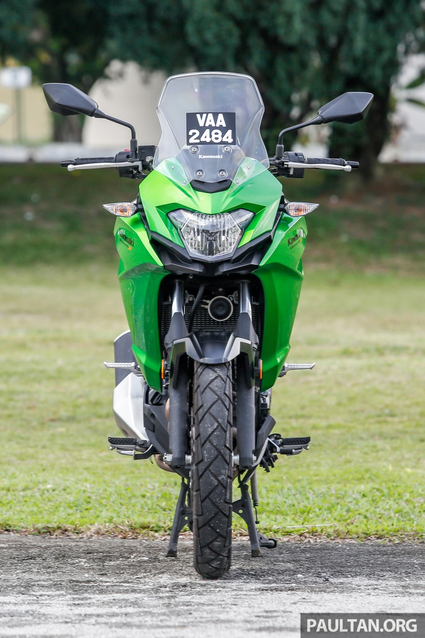REVIEW: 2017 Kawasaki Versys-X 250 – big fun sometimes comes in small packages Image #699564