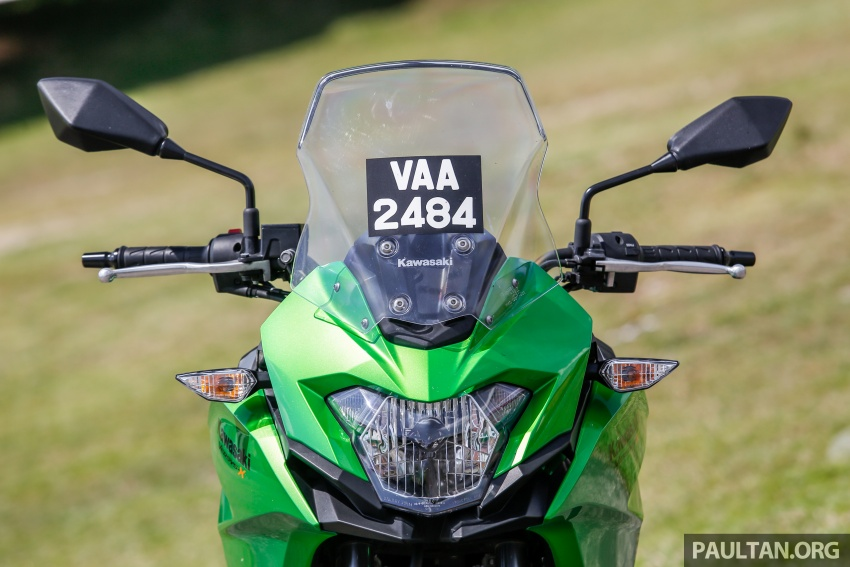 REVIEW: 2017 Kawasaki Versys-X 250 – big fun sometimes comes in small packages Image #699568
