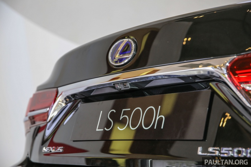 GIIAS 2017: Lexus LS 500h previewed in Indonesia Image #698214