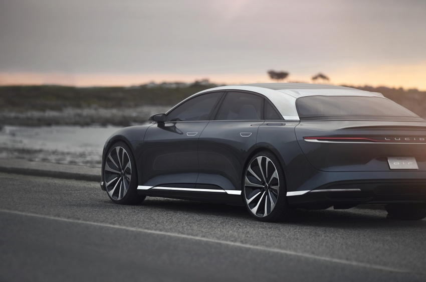 Lucid Air electric sedan will get all-wheel drive option, Launch Edition – deliveries to kick off in 2019 Image #702005