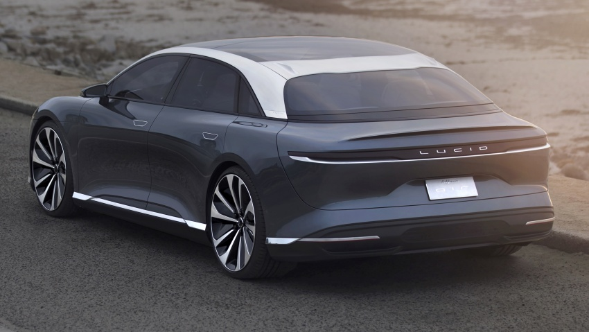 Lucid Air electric sedan will get all-wheel drive option, Launch Edition – deliveries to kick off in 2019 Image #702006