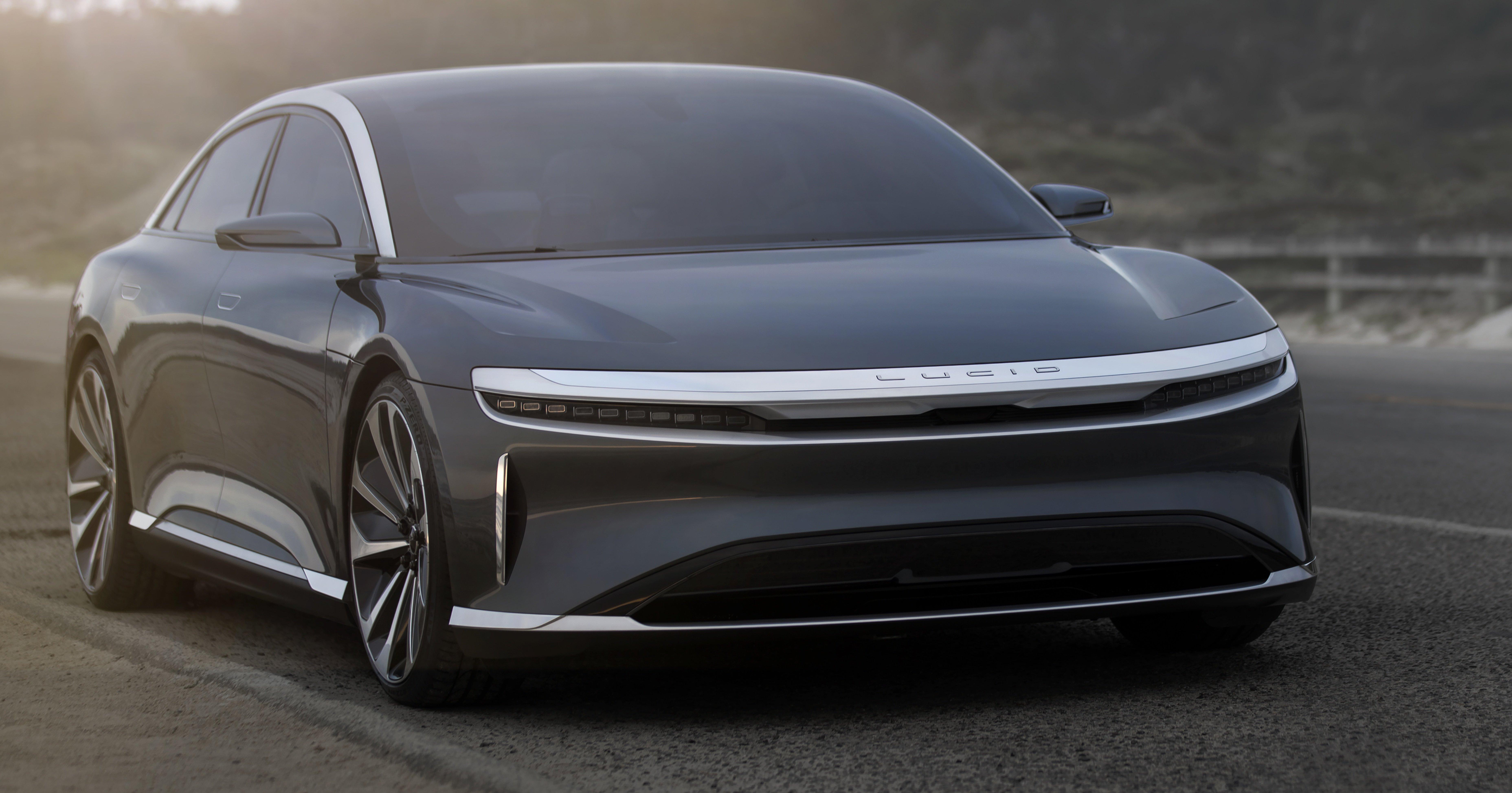 Lucid Air Electric Sedan Will Get All Wheel Drive Option