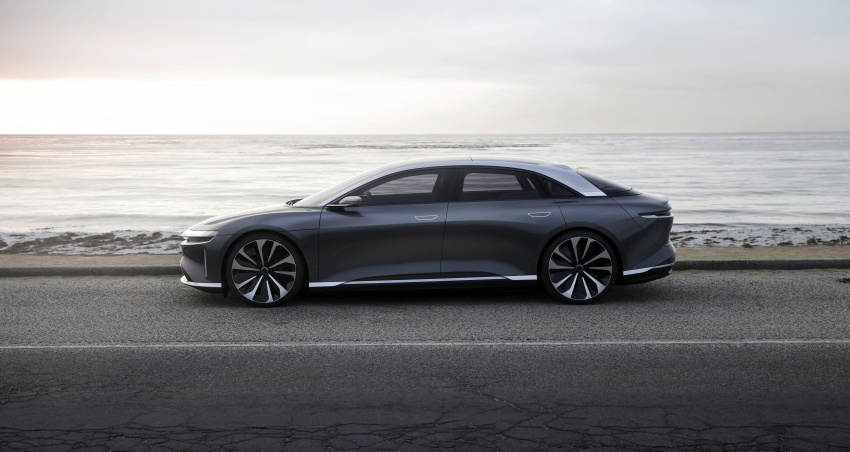 Lucid Air electric sedan will get all-wheel drive option, Launch Edition – deliveries to kick off in 2019 Image #702008