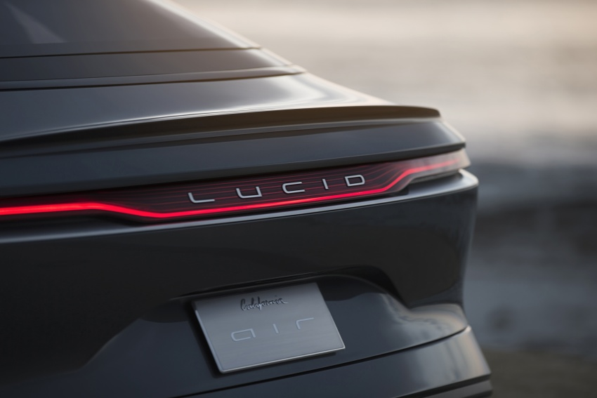 Lucid Air electric sedan will get all-wheel drive option, Launch Edition – deliveries to kick off in 2019 Image #702009