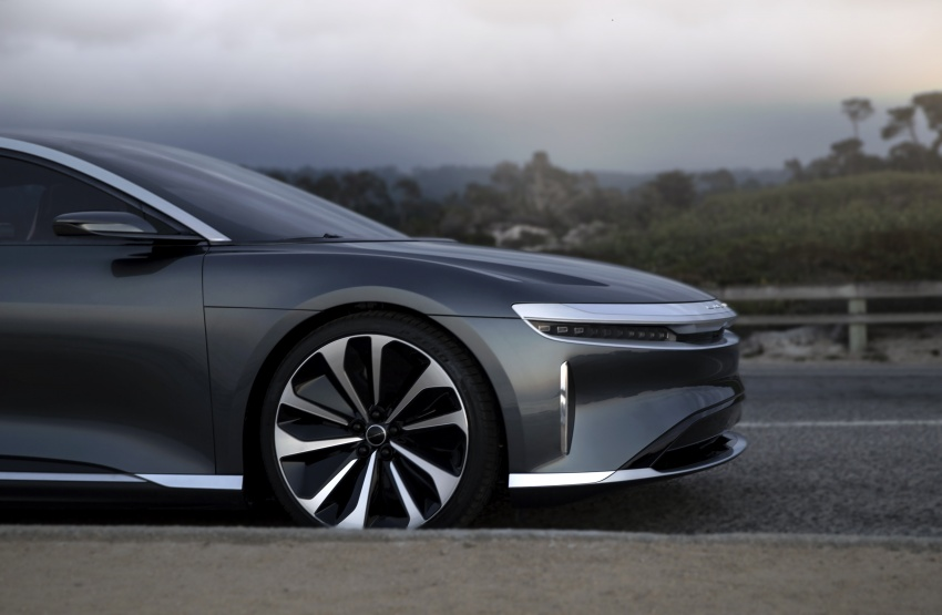 Lucid Air electric sedan will get all-wheel drive option, Launch Edition – deliveries to kick off in 2019 Image #702010