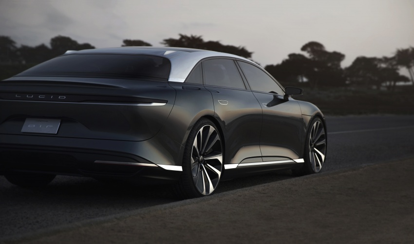 Lucid Air electric sedan will get all-wheel drive option, Launch Edition – deliveries to kick off in 2019 Image #702011