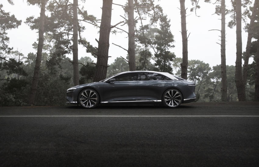 Lucid Air electric sedan will get all-wheel drive option, Launch Edition – deliveries to kick off in 2019 Image #702012