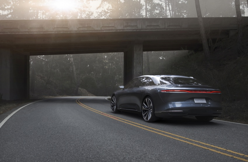 Lucid Air electric sedan will get all-wheel drive option, Launch Edition – deliveries to kick off in 2019 Image #702015