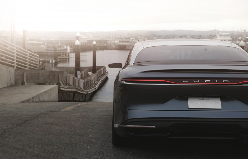 Lucid Air electric sedan will get all-wheel drive option, Launch Edition – deliveries to kick off in 2019 Image #702019
