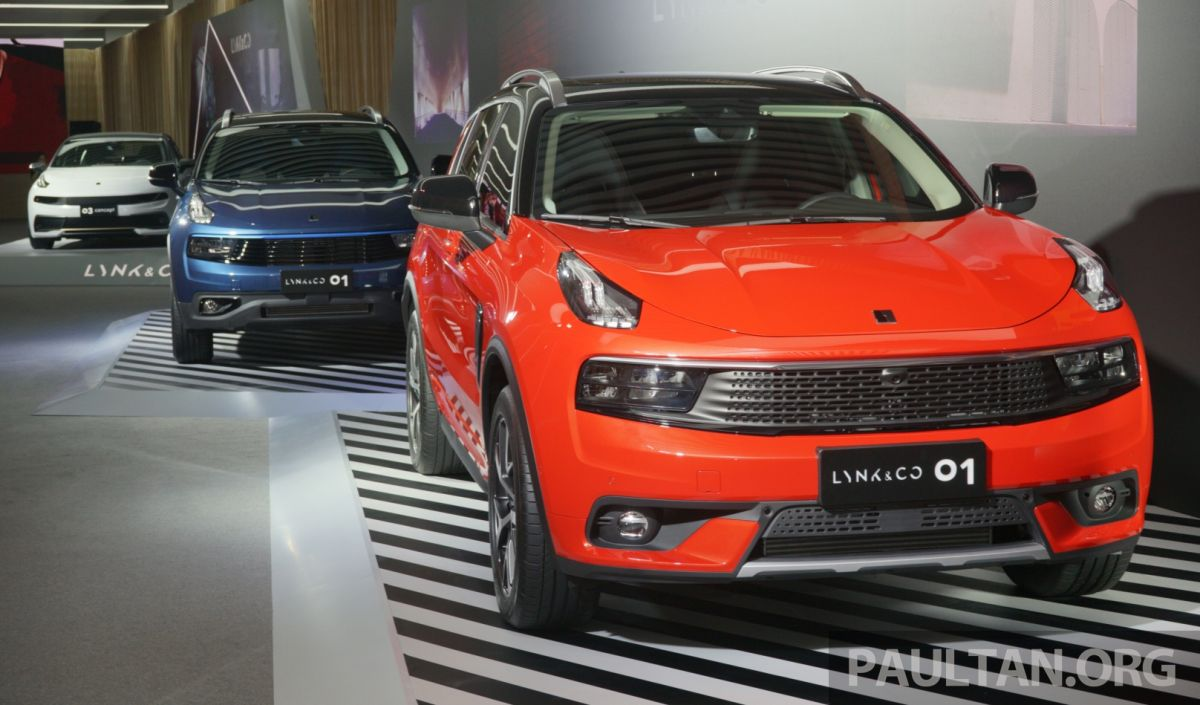 Geely and Volvo form JVs to develop Lynk & Co brand