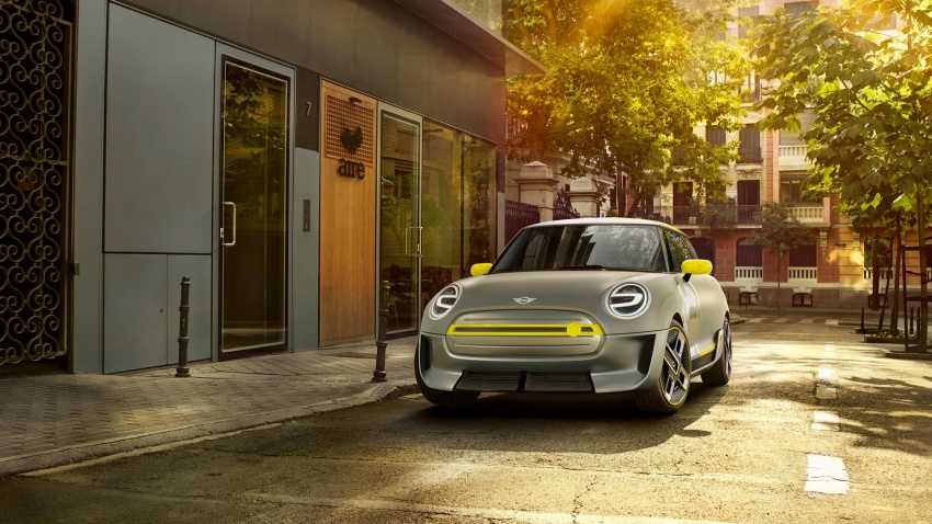 MINI Electric Concept for Frankfurt – production 2019 Image #704905