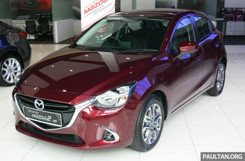 Mazda 2 pasaran Malaysia kini dilengkapi G-Vectoring Control, harga masih kekal RM88k hingga RM93k Image #704115