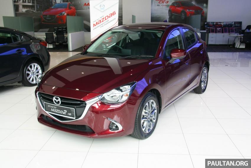 2017 Mazda 2 GVC now in Malaysia – RM88k-RM93k Image #703962