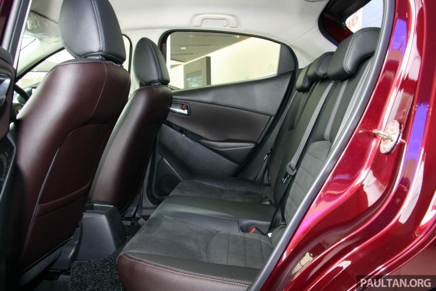 Mazda 2 pasaran Malaysia kini dilengkapi G-Vectoring Control, harga masih kekal RM88k hingga RM93k Image #704138