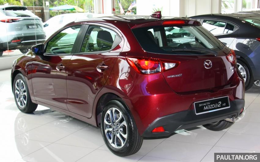 Mazda 2 pasaran Malaysia kini dilengkapi G-Vectoring Control, harga masih kekal RM88k hingga RM93k Image #704120