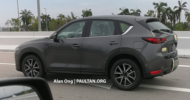 New Mazda Cx 5 Spotted In Malaysia Ahead Of Launch