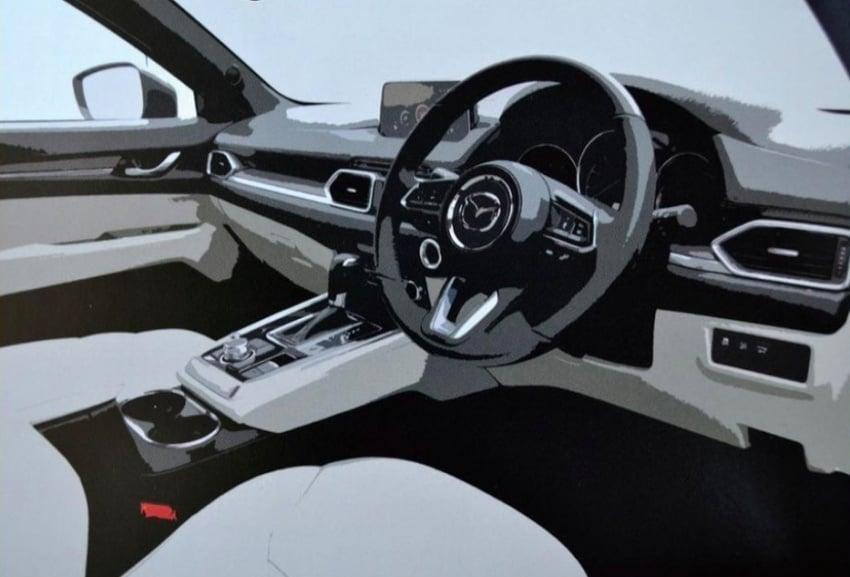 Mazda CX-8 three-row SUV shown in brochure leak Image #694225