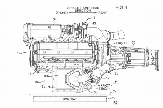 Mazda Triple-charged Engine Patent Seen