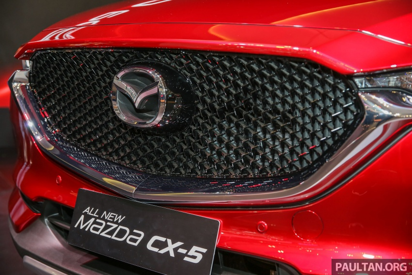 GIIAS 2017: Second-gen Mazda CX-5 launched in Indonesia – 2.5L Skyactiv-G, from RM169k Image #696619