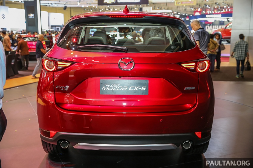 GIIAS 2017: Second-gen Mazda CX-5 launched in Indonesia – 2.5L Skyactiv-G, from RM169k Image #696613