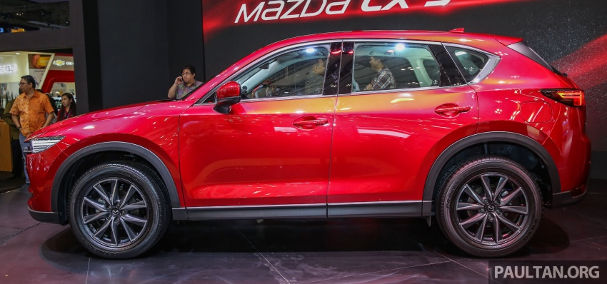 GIIAS 2017: Second-gen Mazda CX-5 launched in Indonesia – 2.5L Skyactiv-G, from RM169k Image #696614