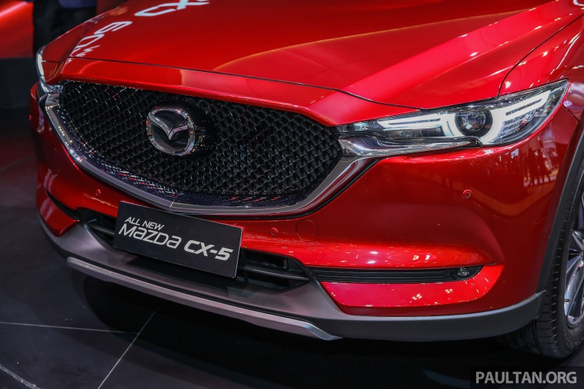 GIIAS 2017: Second-gen Mazda CX-5 launched in Indonesia – 2.5L Skyactiv-G, from RM169k Image #696615