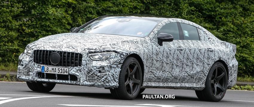 SPYSHOTS: Mercedes-AMG GT four-door seen testing Image #695288