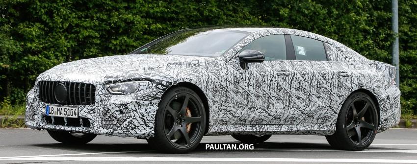 SPYSHOTS: Mercedes-AMG GT four-door seen testing Image #695290