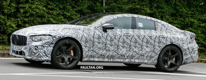 SPYSHOTS: Mercedes-AMG GT four-door seen testing Image #695291