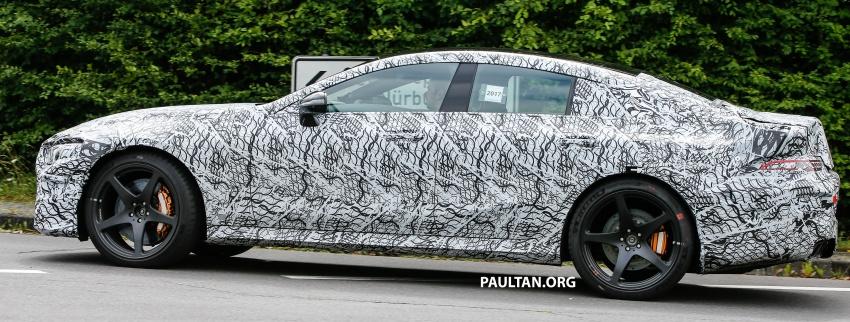 SPYSHOTS: Mercedes-AMG GT four-door seen testing Image #695292